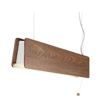 Oslo  Lampa wisząca – Styl skandynawski – kolor brązowy