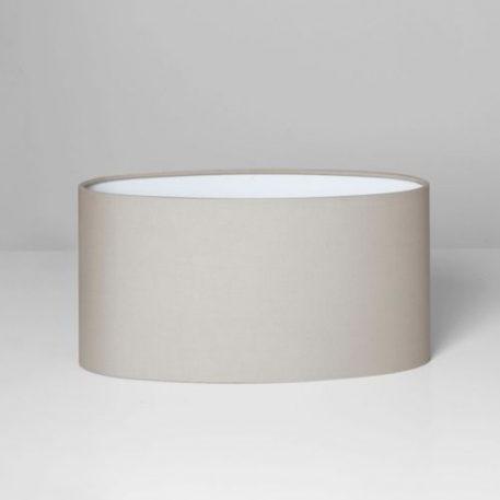 Oval Abażur – kolor beżowy, Szary