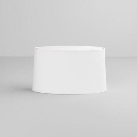 Oval Abażur – kolor biały