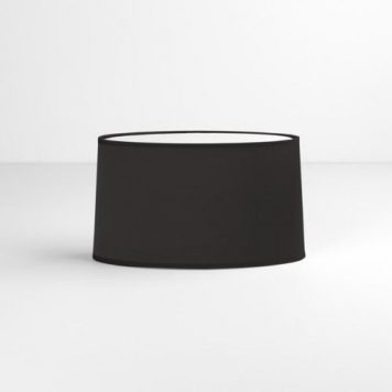 Oval Abażur – kolor Czarny