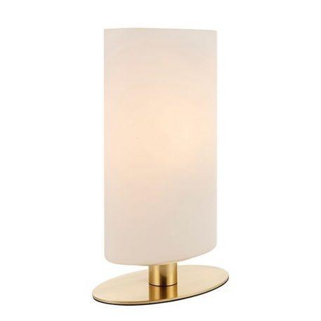 Palmer  Lampa nowoczesna – szklane – kolor biały, złoty