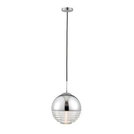 Paloma Lampa wisząca – szklane – kolor srebrny, transparentny