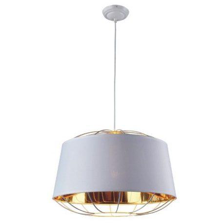 Pandora  Lampa wisząca – Styl nowoczesny – kolor biały, złoty