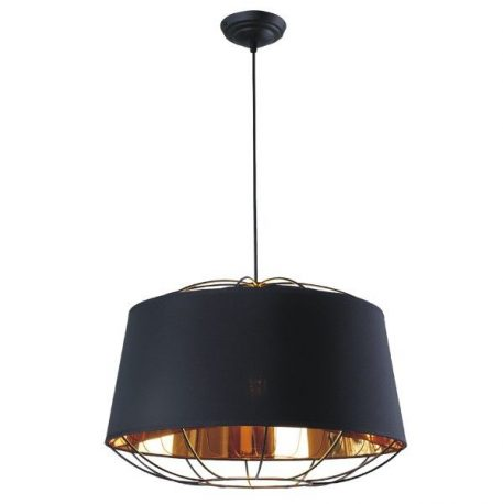Pandora Lampa wisząca – Styl nowoczesny – kolor złoty, Czarny