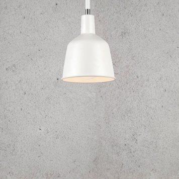 Patton Lampa wisząca – Styl skandynawski – kolor biały