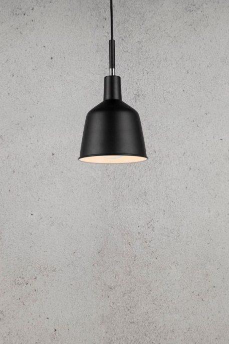 Patton Lampa wisząca – Styl skandynawski – kolor Czarny