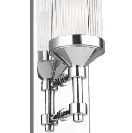 Paulson Lampa nowoczesna – szklane – kolor srebrny, transparentny