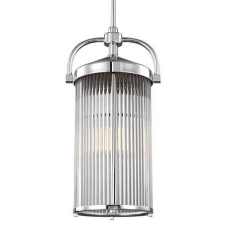 Paulson Lampa wisząca – szklane – kolor srebrny, transparentny