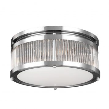 Paulson Plafon – Plafony – kolor srebrny, transparentny