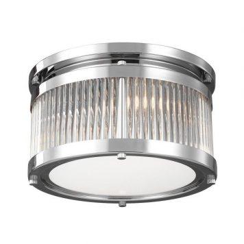 Paulson  Plafon – Styl nowoczesny – kolor srebrny, transparentny