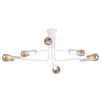 Peka  Lampa sufitowa – industrialny – kolor biały