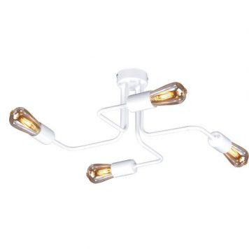 Peka Lampa sufitowa – Styl skandynawski – kolor biały