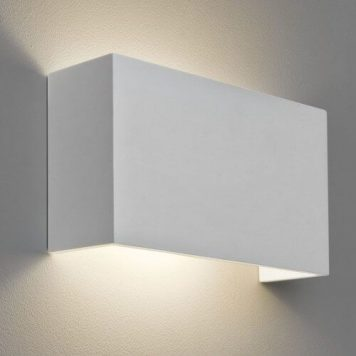 Pella Lampa nowoczesna – Gipsowe – kolor biały