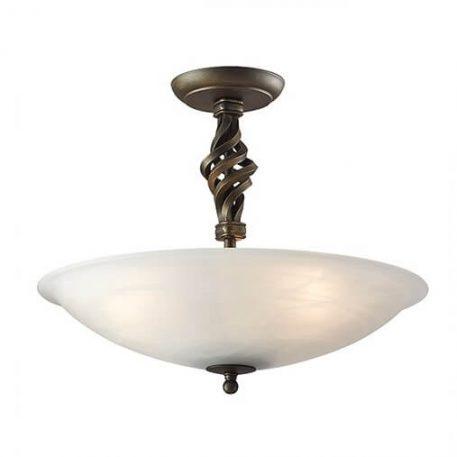 Pembroke Lampa sufitowa – szklane – kolor złoty, Czarny