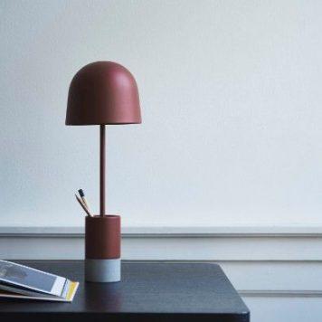 Pen  Lampa stołowa – Styl nowoczesny – kolor Czerwony