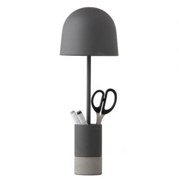 Pen  Lampa stołowa – Styl nowoczesny – kolor Szary