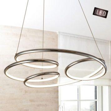 Peria Lampa wisząca – Styl nowoczesny – kolor srebrny