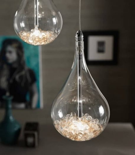 Perle Lampa wisząca – Styl nowoczesny – kolor transparentny