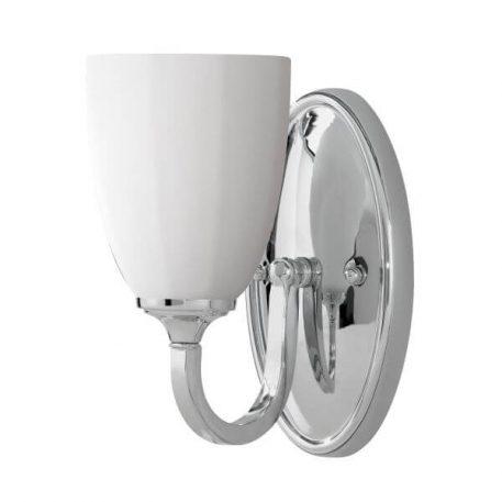 Perry Lampa klasyczna – szklane – kolor biały, srebrny