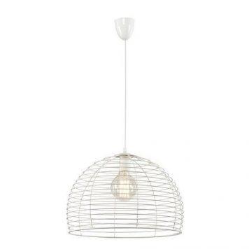 Perth  Lampa wisząca – Styl skandynawski – kolor biały