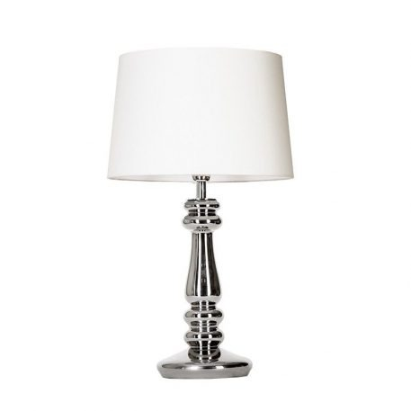 Petit Trianon Lampa modern classic – Styl modern classic – kolor biały, srebrny