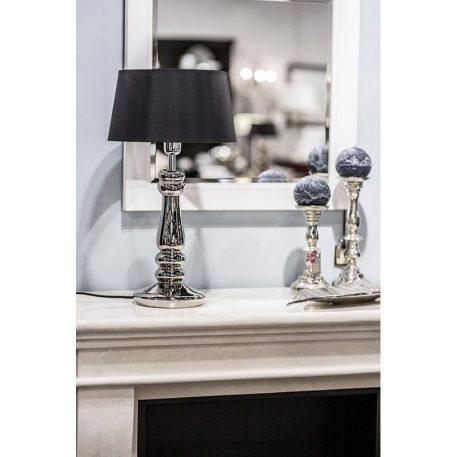 Petit Trianon Lampa modern classic – szklane – kolor srebrny, złoty, Czarny
