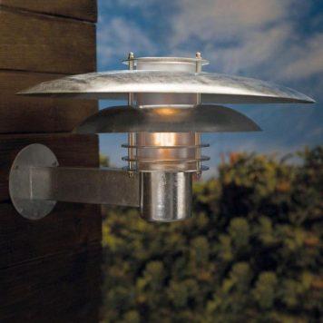 Phoenix Lampa zewnętrzna – Styl nowoczesny – kolor srebrny