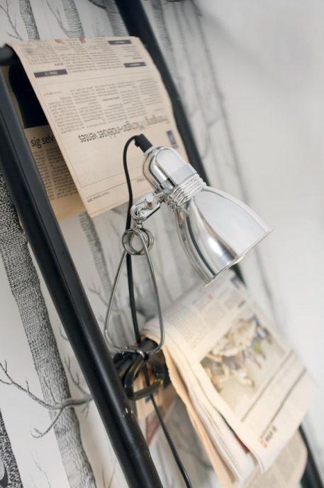 Photo Lampa nowoczesna – Do czytania – kolor srebrny