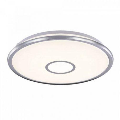 Plafon - biały akryl, chrom - Maytoni