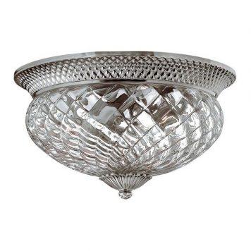 Plantation Lampa sufitowa – Plafony – kolor srebrny, transparentny