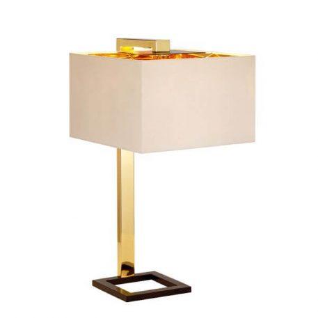 Plein Lampa nowoczesna – Styl nowoczesny – kolor beżowy, złoty