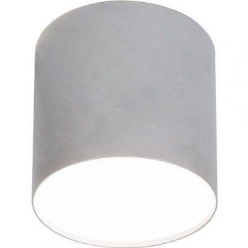 Point Plexi Oczko/spot – Styl nowoczesny – kolor srebrny