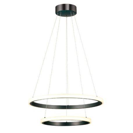 Pluton Lampa wisząca – Lampy i oświetlenie LED – kolor Czarny