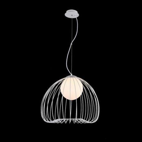 Polly  Lampa wisząca – Styl skandynawski – kolor biały