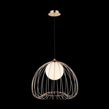 Polly  Lampa wisząca – szklane – kolor złoty
