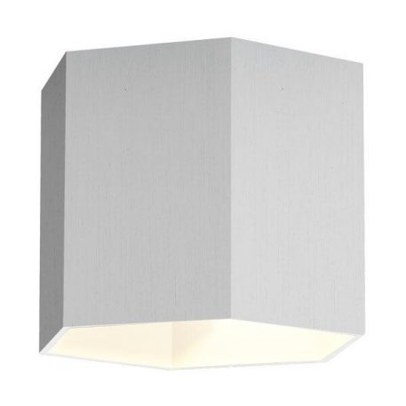 Polygon Lampa nowoczesna – Styl nowoczesny – kolor srebrny