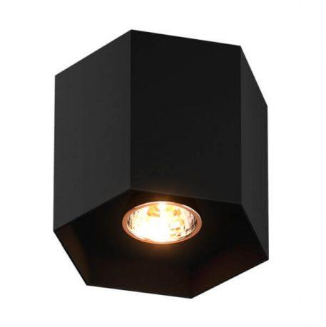 Polygon Oczko/spot – Oczka sufitowe – kolor Czarny