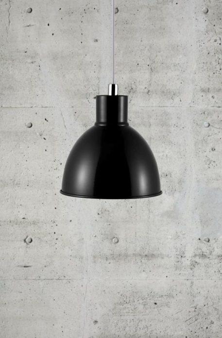 Pop Lampa wisząca – industrialny – kolor Czarny
