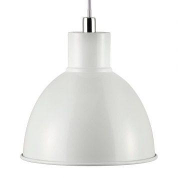 Pop Lampa wisząca – Styl skandynawski – kolor biały