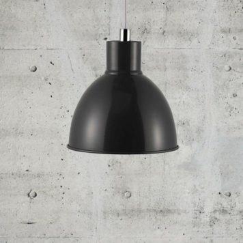 Pop Lampa wisząca – Styl skandynawski – kolor Czarny, Szary