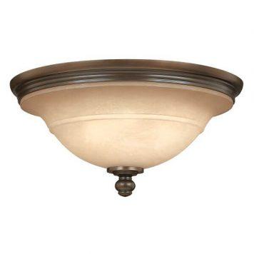 Portland Plafon – szklane – kolor beżowy, brązowy