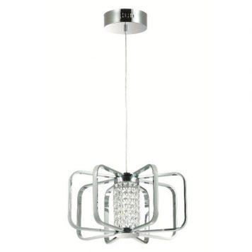 Possi  Lampa nowoczesna – Styl nowoczesny – kolor srebrny