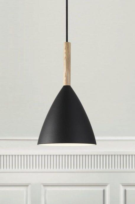 Pure  Lampa wisząca – Styl skandynawski – kolor Czarny