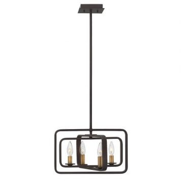 Quentin Lampa wisząca – klasyczny – kolor brązowy
