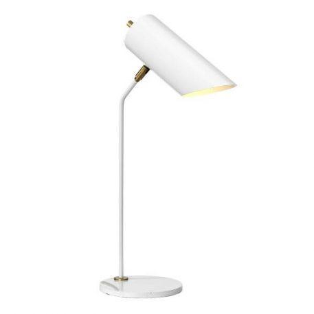Quinto Lampa stołowa – Biurkowe – kolor biały