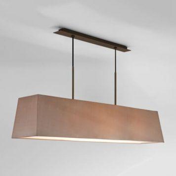 Rafina Lampa wisząca – Z abażurem – kolor brązowy