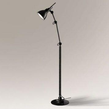 Rain  Lampa podłogowa – kolor Czarny