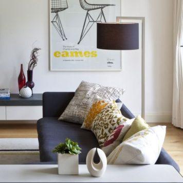 Ravello Lampa podłogowa – Styl nowoczesny – kolor brązowy
