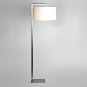 Ravello Lampa podłogowa – Styl nowoczesny – kolor mat, srebrny