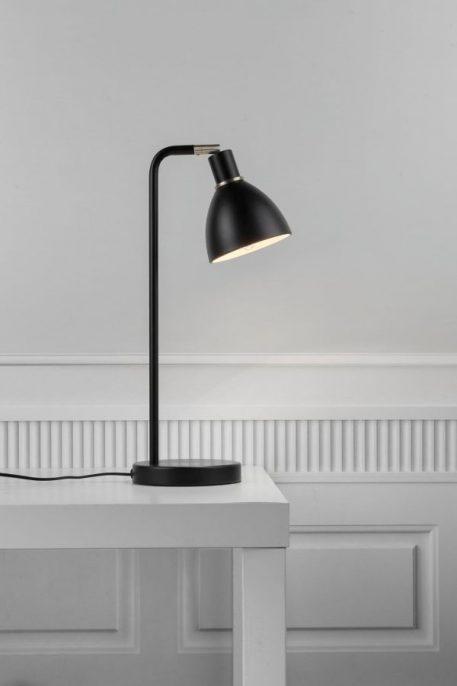 Ray Lampa stołowa – Styl nowoczesny – kolor Czarny